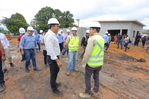 Governador Wilson Lima inaugura complexo de produção rural e anuncia obras, em Maués