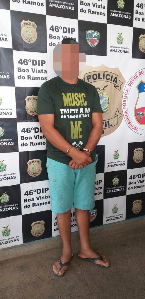PC prende agricultor denunciado por estuprar e engravidar a enteada em Boa Vista do Ramos