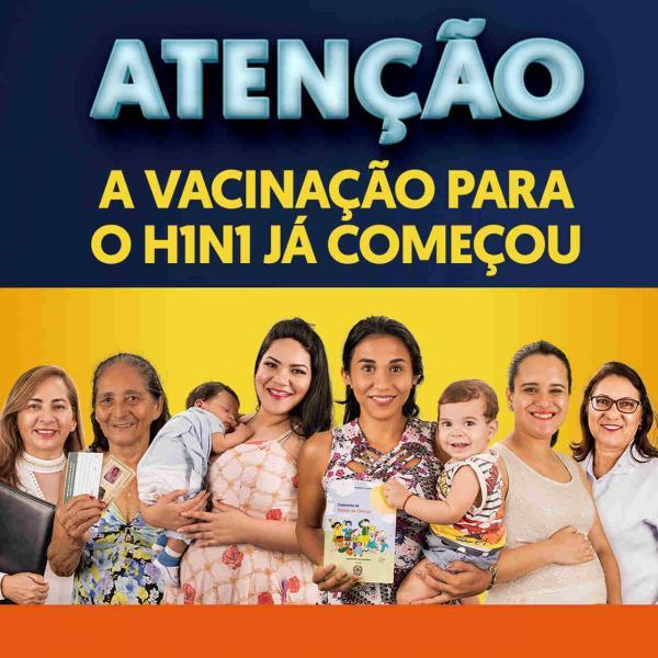 A vacinação contra o H1N1 já começou no Amazonas