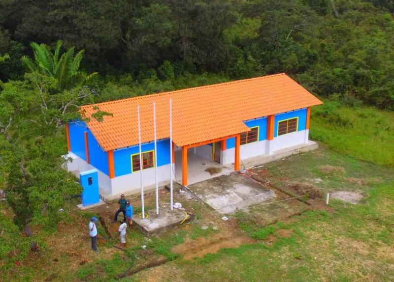 Escolas da região do Rio Mamuru entram em fase de conclusão