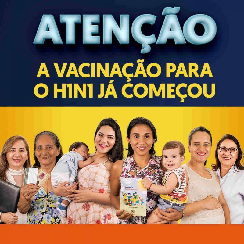 A vacinação contra H1N1 já começou no Amazonas