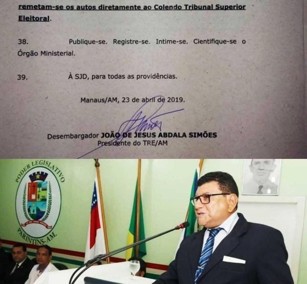 Marcos da Luz tem cassação do mandato confirmado por Desembargador