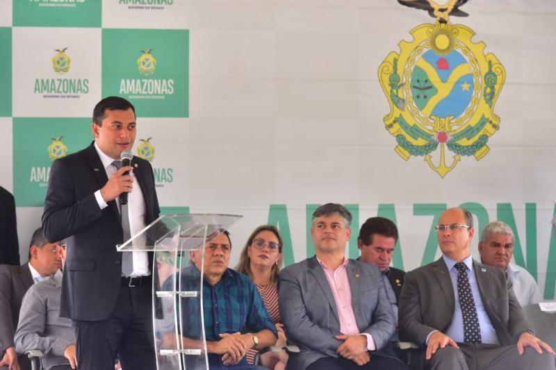 Governador Wilson Lima entrega 37 veículos para unidades básicas de saúde de 25 municípios