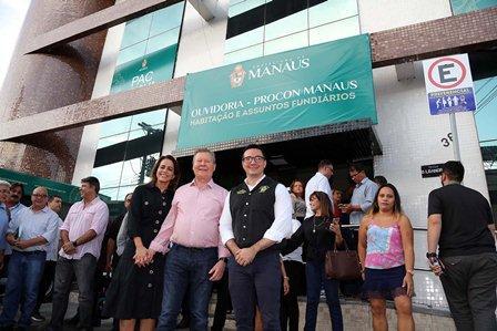 Prefeito Arthur Neto inaugura PAC municipal na Praça 14 de Janeiro