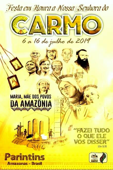 Festa de Nossa Senhora do Carmo começa neste sábado em Parintins