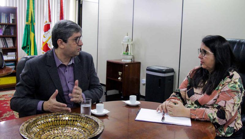 Presidente da CMM fortalece laços institucionais com Ministério Público do Amazonas