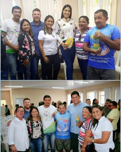 Mayra Dias se torna madrinha do Caps Parintins