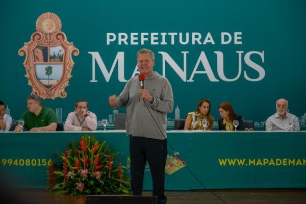 Prefeito Arthur Neto lança Mapa de Manaus para modernização de serviços
