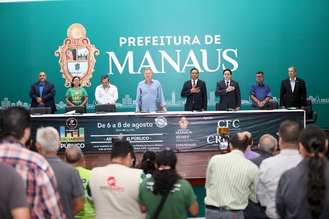 Audiência pública debate diretrizes orçamentárias da Semasc para os dois próximos anos