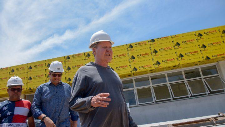 Em visita a obras de complexo educacional na zona Leste, prefeito Arthur destaca avanços na educação