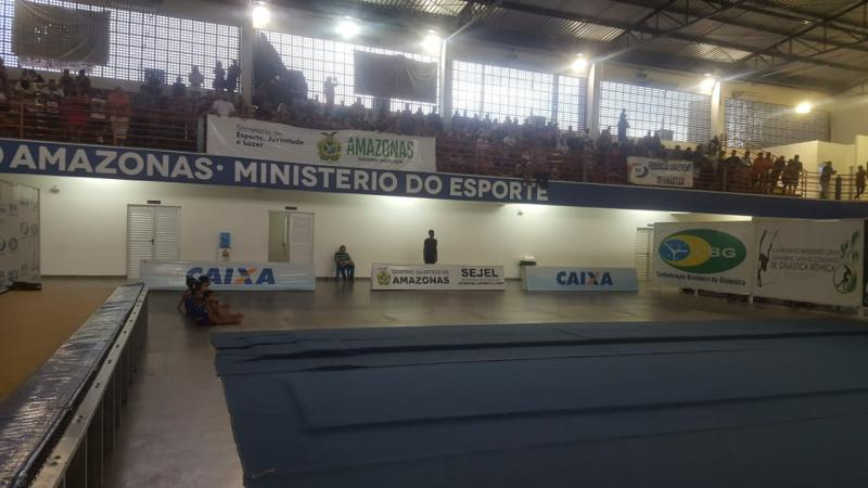 Centro de Ginástica do Amazonas recebeu apresentação de projeto da Federação Amazonense de Ginástica no final de semana