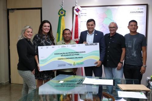 Wilson libera recursos para projetos nas áreas de produção rural, educação e esporte na capital e interior