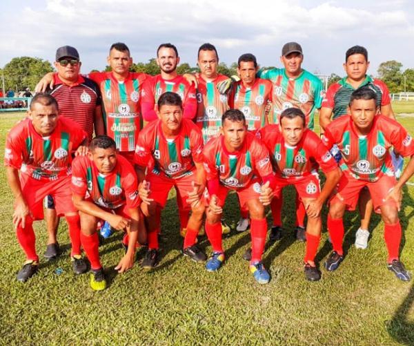Seleção Parintinense máster na segunda fase da Copa dos Rios 2019