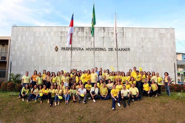 Prefeito Arthur Neto participa de mobilização do Setembro Amarelo