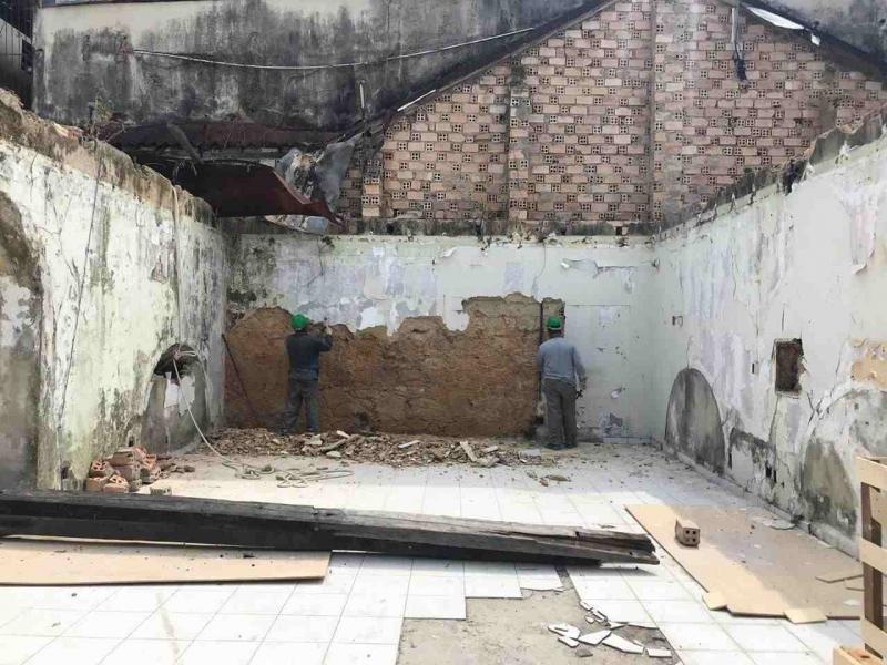 Passado e futuro se encontram em obras de restauro do Centro Histórico de Manaus