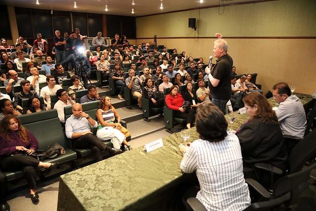 Prefeito Arthur fala sobre Manaus 2030, zona franca e Amazônia em palestra durante Semana de Economia da UEA