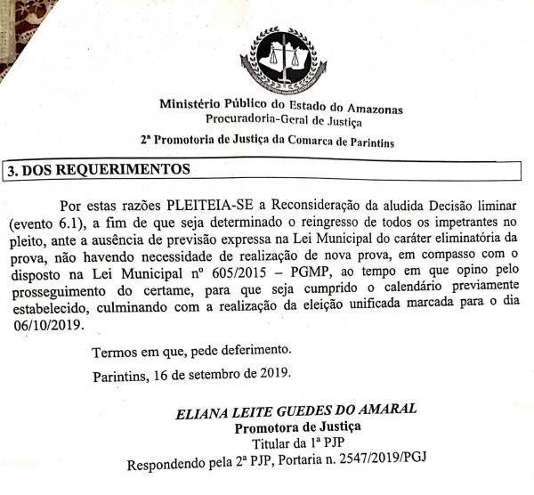 Ministério Público pede a justiça eleição no dia 06 para o Conselho Tutelar e inclusão de todos os candidatos