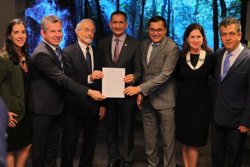Em conversa com Wilson Lima, ministro da Noruega afirma que país quer parceria com Amazonas mesmo sem o Fundo Amazônia