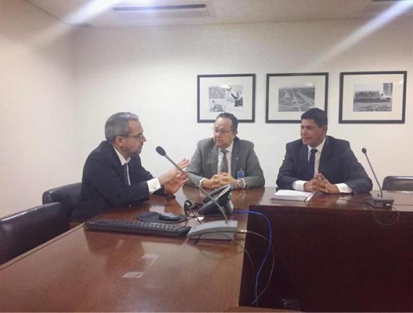 Em Brasília, prefeito Bi Garcia reúne com ministro, senadores e deputados federais em busca de recursos