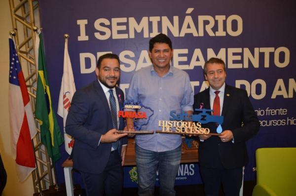 Parintins ganha dois prêmios no 1º seminário de saneamento sustentável da Amazônia