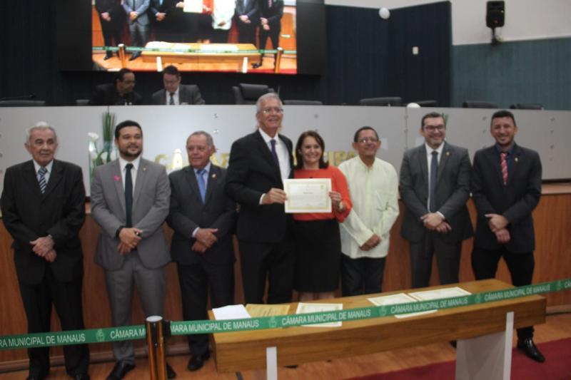 Em solenidade na Câmara Municipal, Romero Reis exalta contribuição dos nordestinos na Amazônia