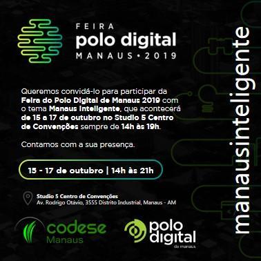 Codese promove II Feira do Polo Digital de Manaus