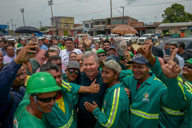 Prefeitura Arthur anuncia mais  R$ 100 milhões em tapa-buracos e vai beneficiar 480 comunidades em toda Manaus