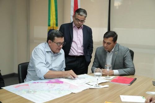 Governador Wilson discute proposta para implantação de polo agroindustrial em Itacoatiara