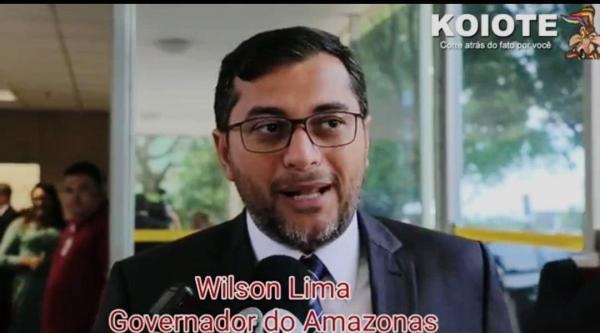 Tolerância zero contra o desmatamento, afirma Wilson Lima em Brasília