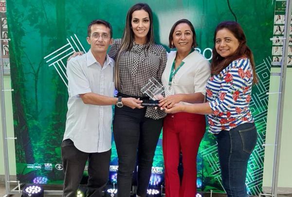 Telemedicina de Parintins a 1ª a implantar sala de telessaúde no Brasil ganha prêmio durante Congresso Nacional