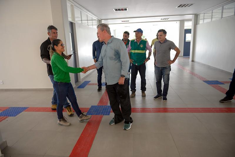 Prefeito Arthur Neto diz que novo centro integrado será um marco na educação em Manaus