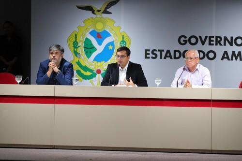 Governador Wilson Lima formaliza gestão compartilhada do Hospital Francisca Mendes