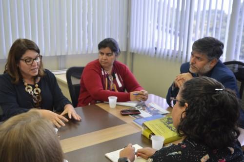 Susam e Unesco preparam acordo de cooperação nas áreas da prevenção às IST/Aids e saúde indígena e prisional