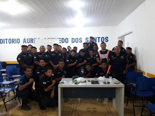 Detran realiza curso de agentes de trânsito em Rio Preto da Eva