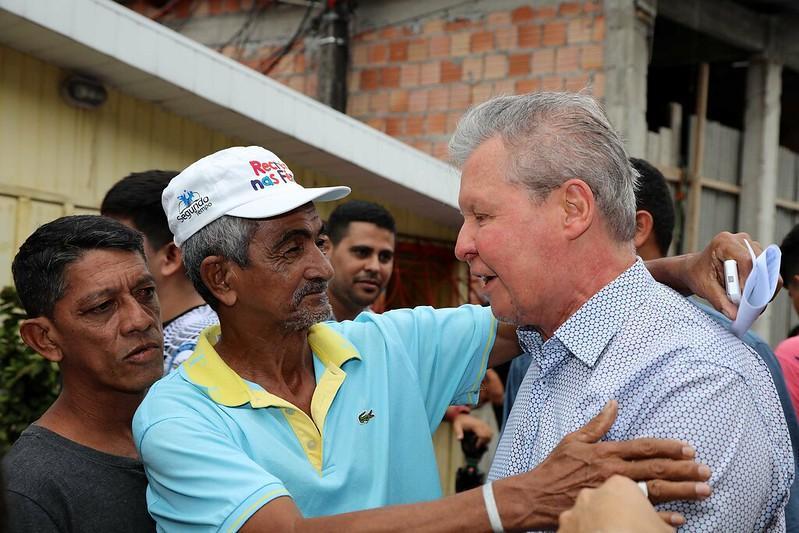 Famílias vítimas do incêndio no bairro Educandos reconhecem assistência da Prefeitura de Manaus