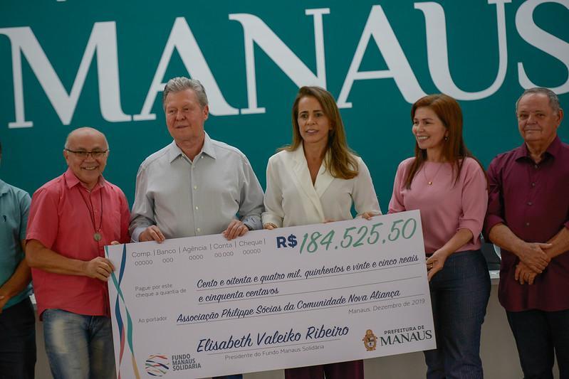 Prefeitura de Manaus  repassa R$ 6 milhões a 33 organizações civis para projetos sociais