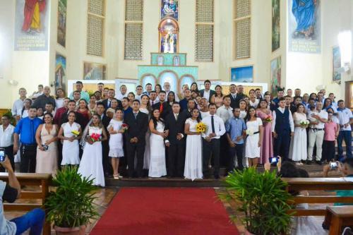 Grande baile para 117 casais, Prefeitura de Parintins encerra casamento coletivo 2019