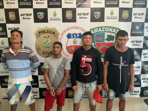 Polícia Civil recaptura quatro foragidos da Justiça, em Silves