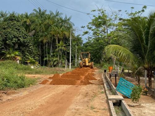 Governo do Amazonas executa mais de 70% das obras de infraestrutura no município de Santa Isabel do Rio Negro