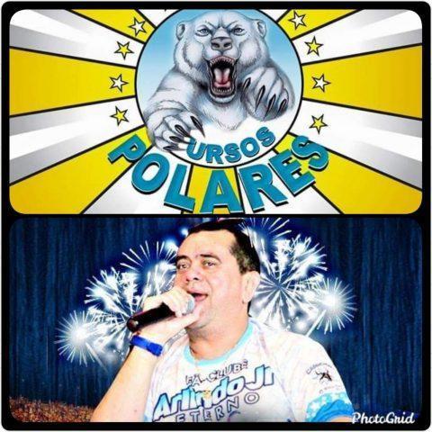 Pop da Selva Arlindo Junior é tema do Bloco Ursos Polares, no Carnailha 2020