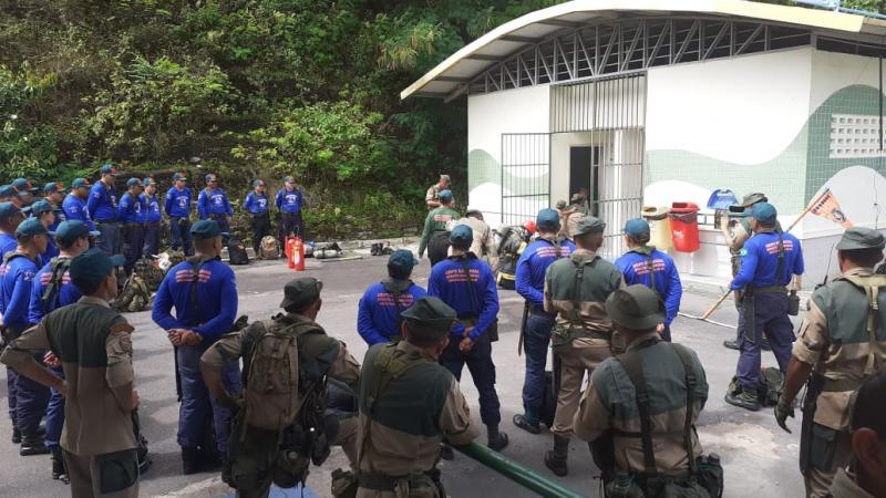 Parque Lagoa Senador Arthur Virgílio Filho recebe treinamento para novos integrantes do grupo Suçuarana