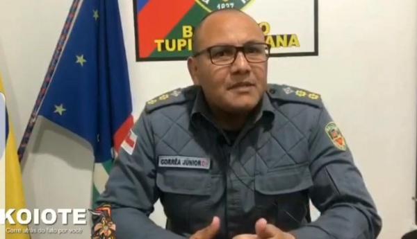 Comandante Corrêa Junior suspende preventivamente Cabo da PM que bateu boca na Igreja Evangélica CBNR