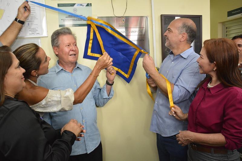 Prefeito Arthur Neto entrega UBS revitalizada e beneficia quatro mil pessoas no Cidade de Deus