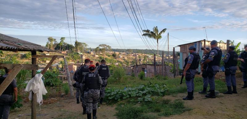 SSP-AM deflagra operação 'Domínio da Lei' contra tráfico de drogas na zona norte