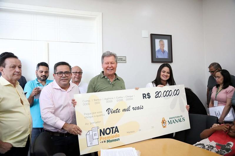 'Nota Premiada Manaus' alcança a marca de 10 mil cadastrados