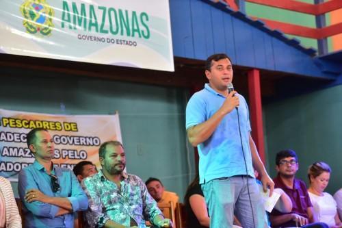 Em Envira, Wilson Lima anuncia retomada das obras do sistema viário e início da revitalização da orla para 2020