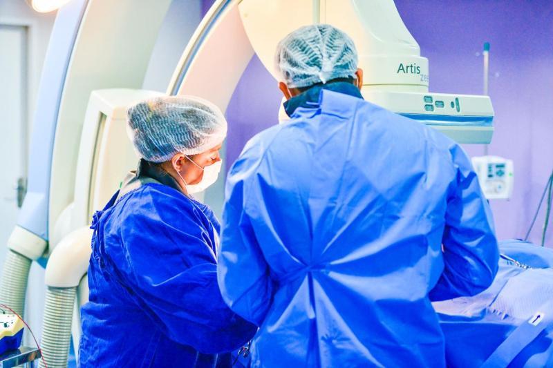 Francisca Mendes tem crescimento de 87% nas cirurgias cardíacas, em janeiro