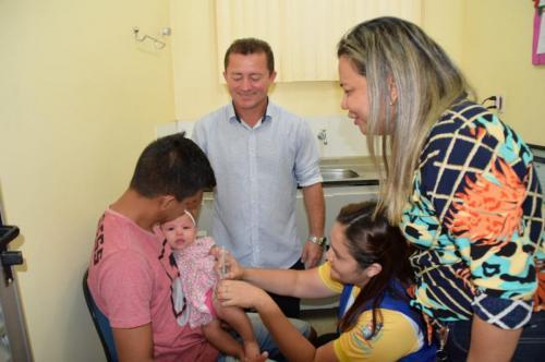Parintins abre campanha de Vacinação contra Sarampo 2020