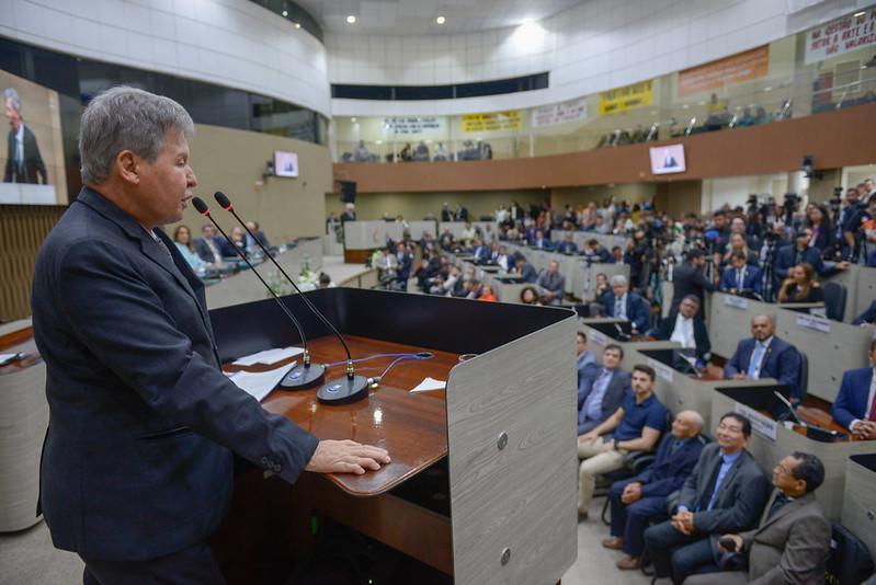 Arthur Neto na Câmara de Manaus: 'Refundamos Manaus e a preparamos para o futuro'