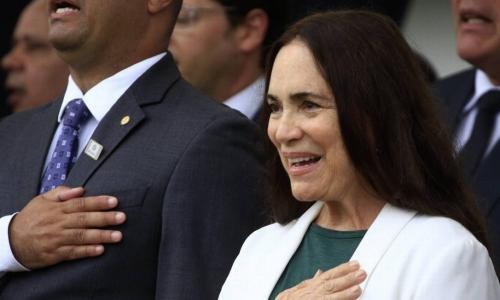 Regina Duarte acerta sua saída da TV Globo